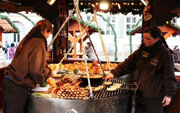 Germany, Heidelburg, Christmas Markets