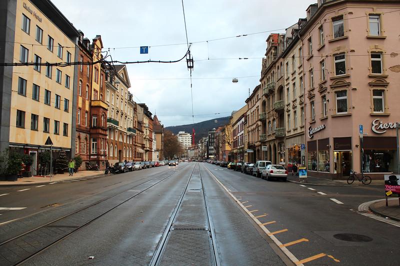 Germany, Heidelburg, Tram Line