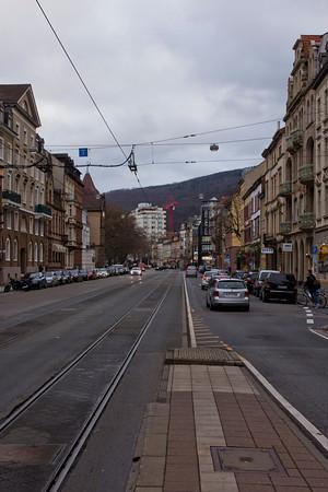 Germany, Heidelburg, Main Street SNM