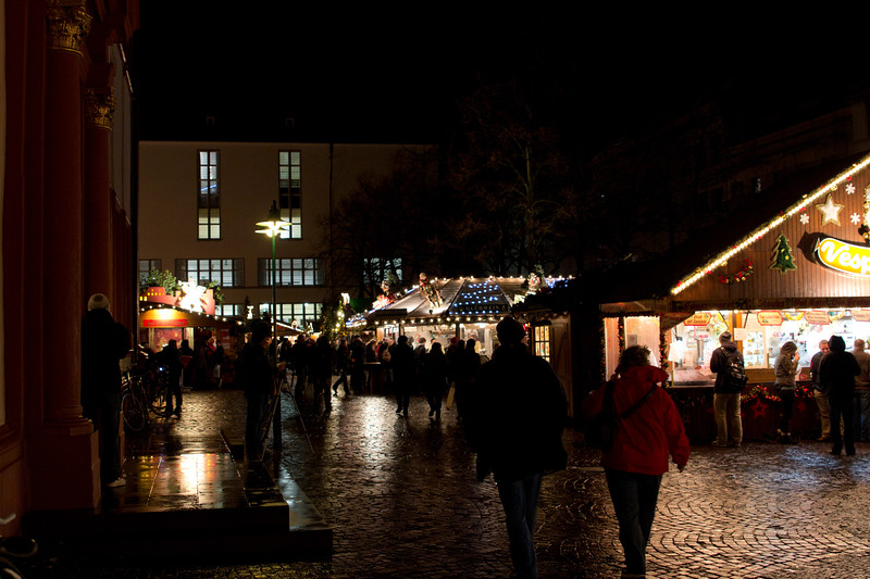 Germany, Heidelburg, Streets at Night SNM