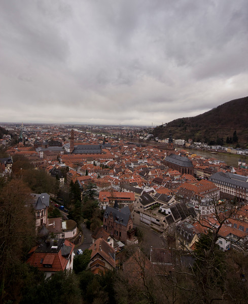 Germany, Heidelburg, View of Heidelburg SNM