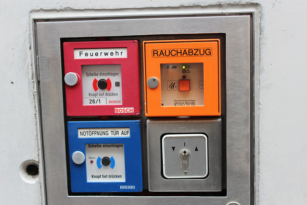 Germany, Heidelburg, Electrical Control Cabinet - I like the colours!!!