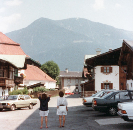 Michelle and Edda in Garmisch