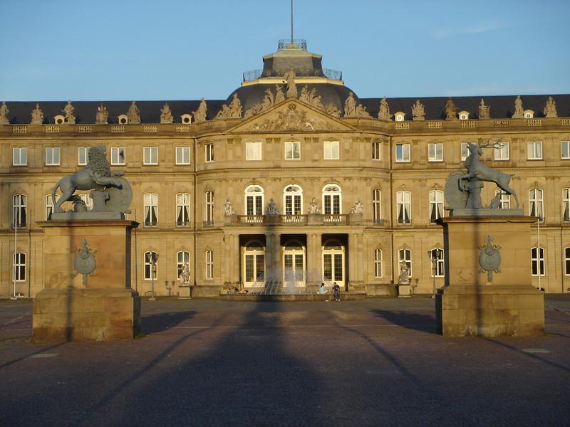 Castle in Stuttgart