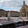 Market day in Nuremberg