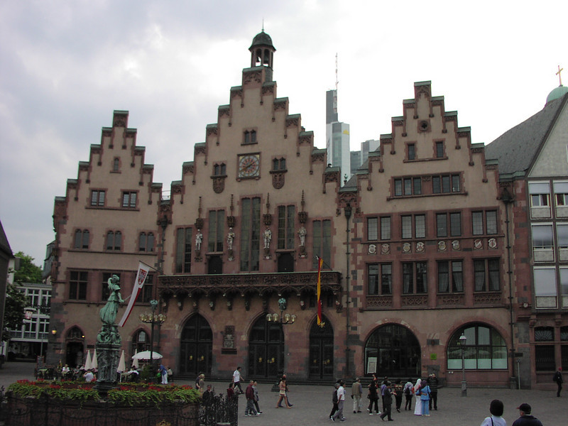 The Roemer, the city hall of Frankfurt