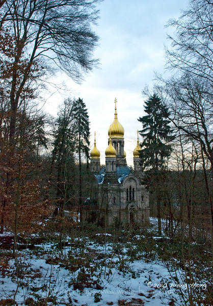 Russian Church in Wisbaden