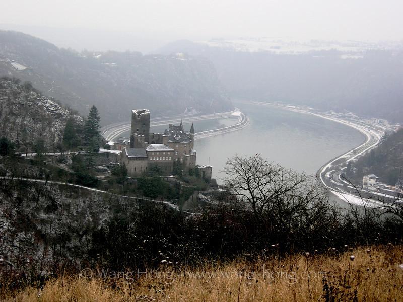 The Katz Castle along the Rhein
