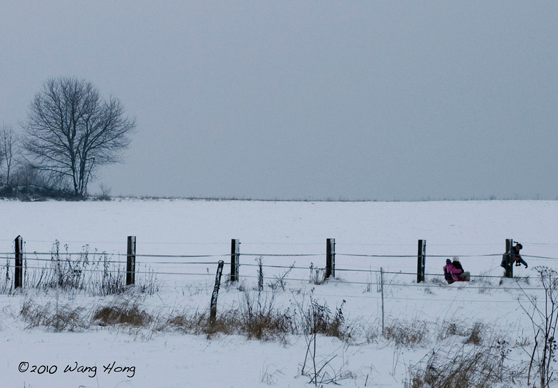 Winter fun, Horressen
