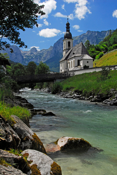 Ramsau Church - Ramsau, Germany