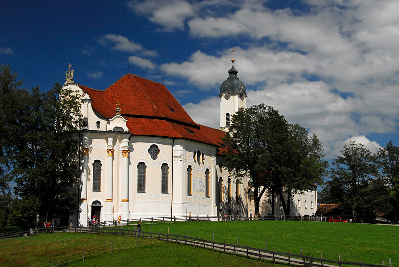 Wieskirke Church - Wies, Germany