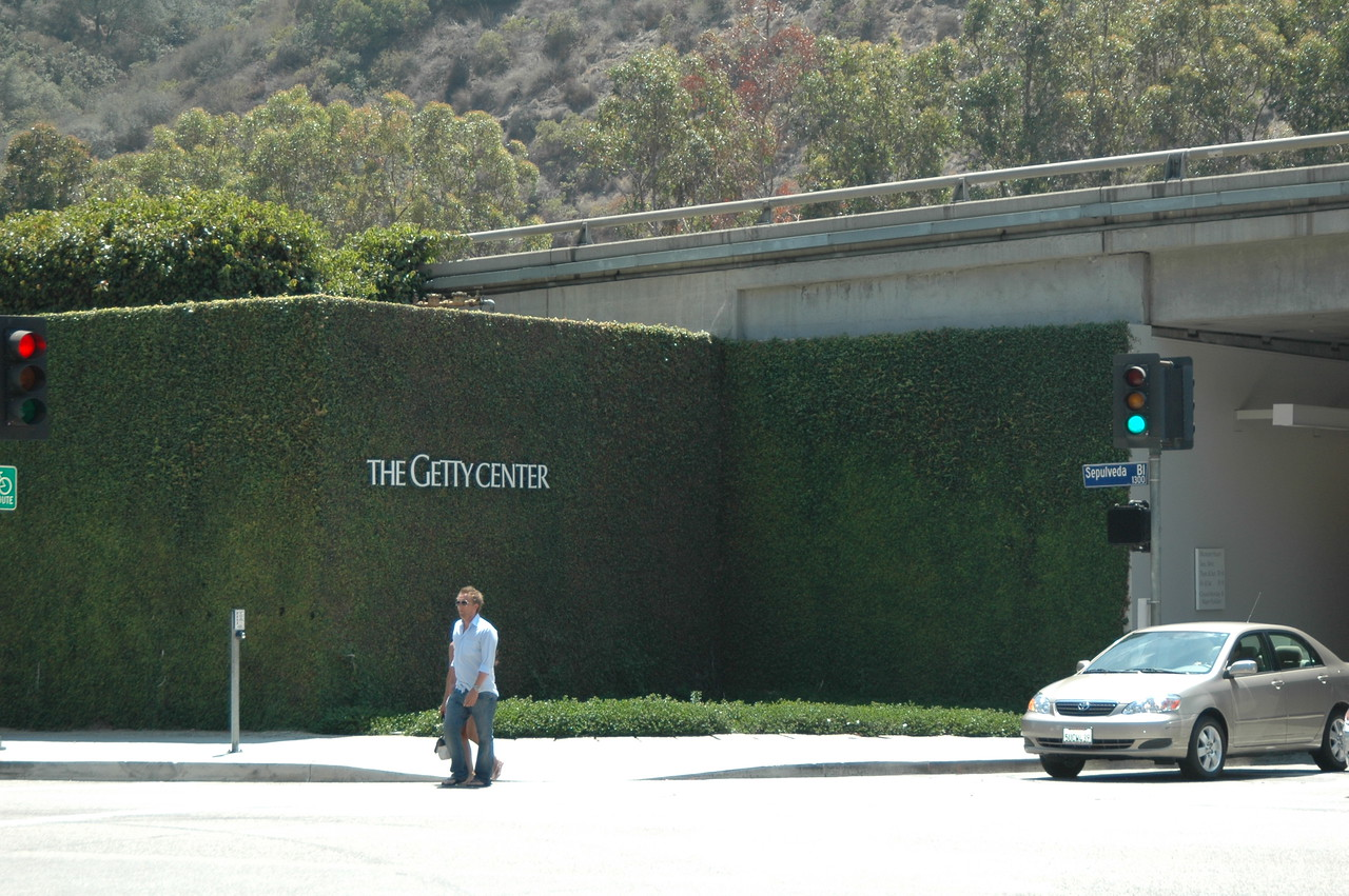 Getty Center Entrance