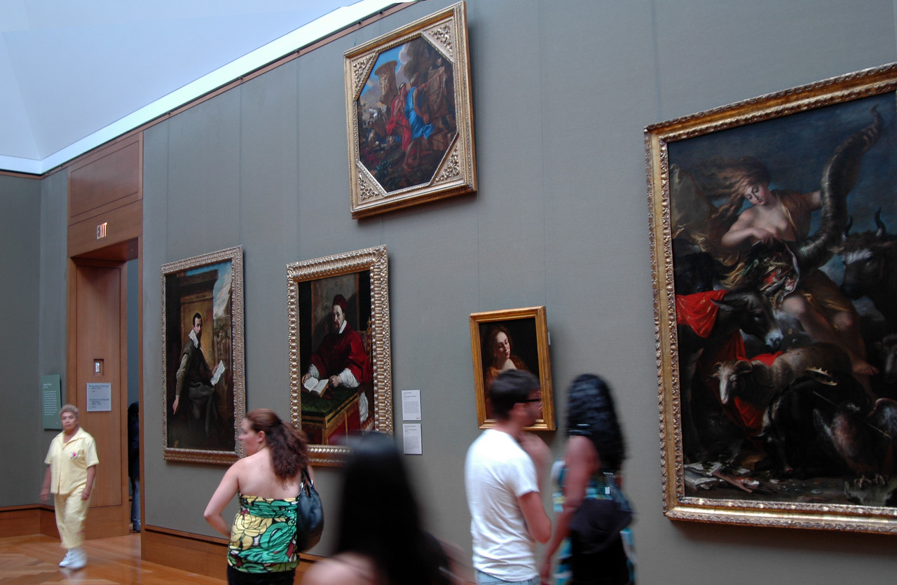 Paintings in Getty Center