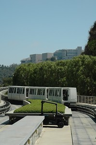Tram to Getty Center