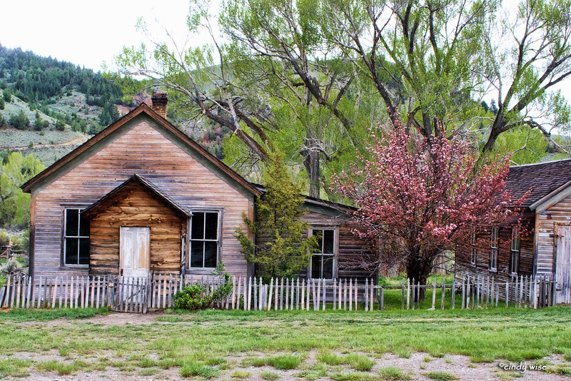 springtime house, bannack
