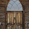 church door, bannack