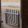 front door gate, bannack