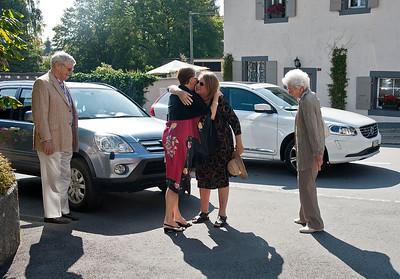 Goodbye Lunch in Cheserex, 27 Sept 2014