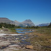 the trail back from Hidden Lake to Logan Pass VIsitor Center