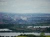 View towards Glasgow from The Craigie, Barrhead<br /> 17th June 2014