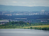 View towards Glasgow city centre from The Craigie, Barrhead<br /> 17th June 2014