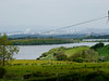 View towards Glasgow over Balgray Reservoir, Barrhead.<br /> 30th May 2014