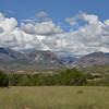 Mogollon mountains as seen from Leopold Vista.