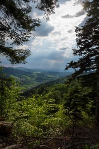 Gewitterwolken im Glottertal / Thunderclouds in the Glotter Valley