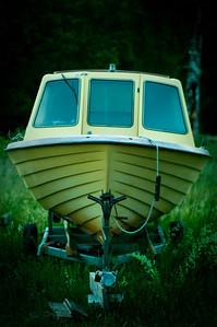 Boat at Gotland, Sweden