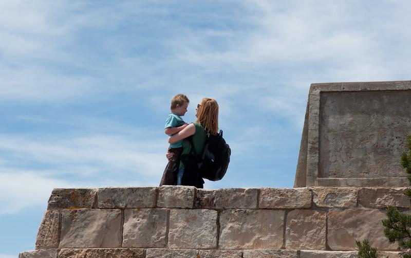 Marisa and Vincent at the Grand Canyon