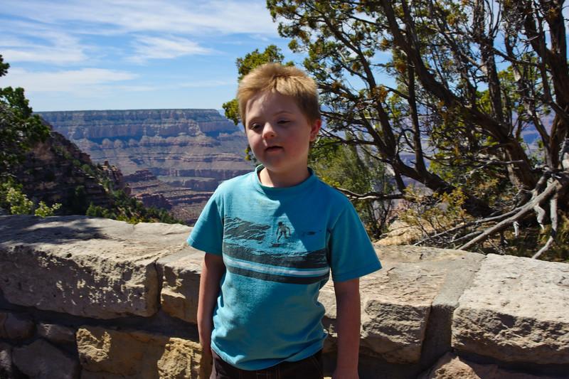 Vincent at the Grand Canyon