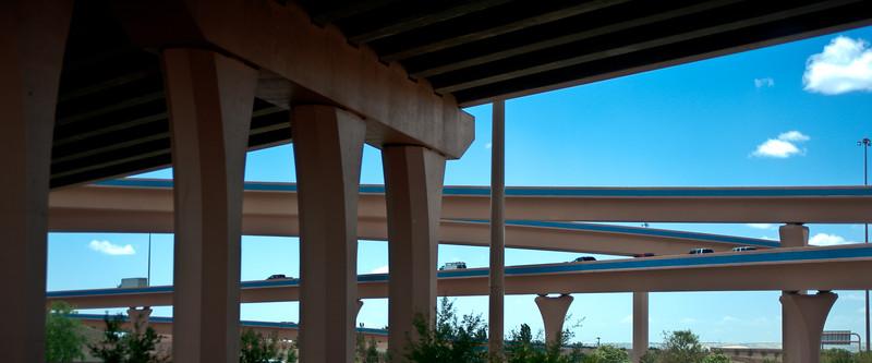 Passing through Albuquerque, we admired the bridges and overpasses.