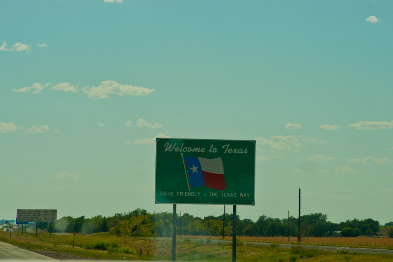Welcome To Texas / Drive Friendly - The Texas Way