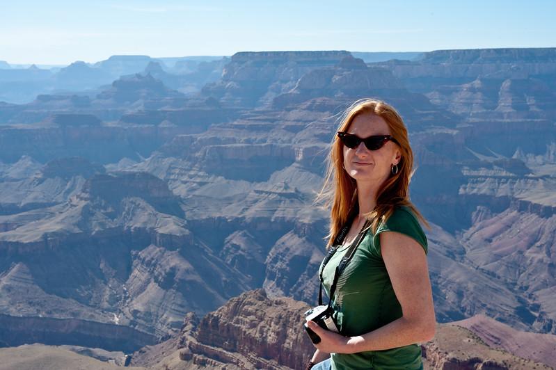 Marisa at the Grand Canyon