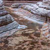 Golden Reflections<br /> Matkatamiba Canyon, River Mile 148, Colorado River, Grand Canyon National Park<br /> 2012