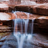 Crystalline Falls <br /> Matkatamiba Canyon, River Mile 148, Colorado River, Grand Canyon National Park<br /> 2009