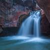 Shinumo Falls<br /> Shinumo Creek, River Mile 108, Colorado River, Grand Canyon National Park<br /> 2012