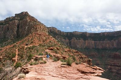 South Kaibab trail from Cedar Ridge