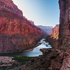 Morning At The Granaries<br /> Nankoweap, River Mile 53, Colorado River, Grand Canyon National Park<br /> 2009