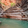 Blue Green Reflections<br /> Matkatamiba Canyon, River Mile 148, Colorado River, Grand Canyon National Park<br /> 2012