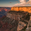 South Rim Glow<br /> El Tovar Overlook, South Rim, Grand Canyon National Park, Arizona<br /> 2009