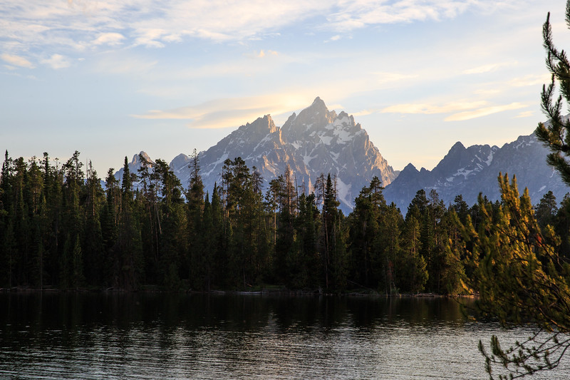 Cathedral Group at sunset. I'll never cease to be wowed by these mountains!