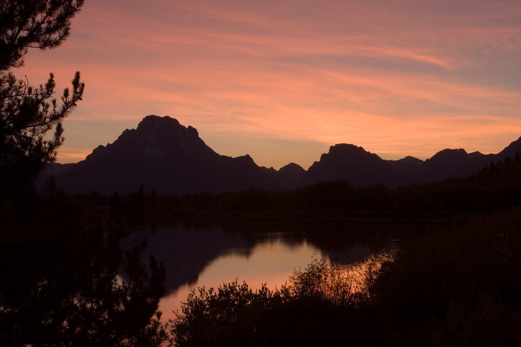 Oxbow Bend magic hour.