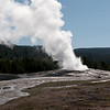 Old Faithful,  Yellowstone National Park.