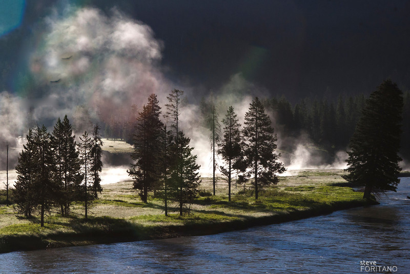 Early morning, Snake River near the southern entrance to Yellowstone National Park.