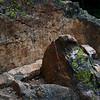 Rock outcropping near Jenny Lake, Grand Teton National Park