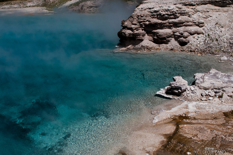 Sapphire Pool,  Yellowstone National Park.