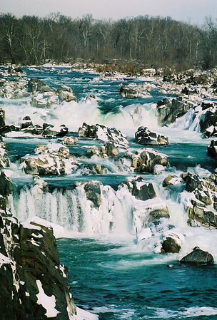 Great Falls in the Snow