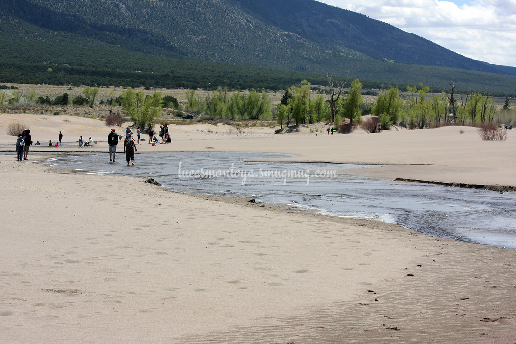 Medano Creek in Great Sand Dunes National Park, Colorado - 21 May 2011