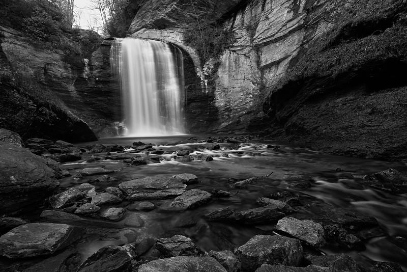 Looking Glass Falls, Pisgah National Forest, North Carolina
